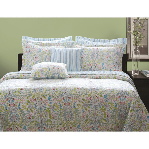 Greenland Home Fashions Annabelle 3-piece Quilt Set