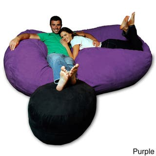 Tremendous Buy Purple Kids Bean Bag Chairs Online At Overstock Our Lamtechconsult Wood Chair Design Ideas Lamtechconsultcom