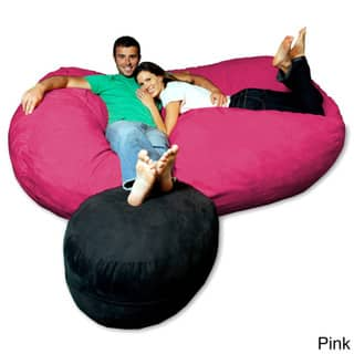 Phenomenal Buy Pink Bean Bag Chairs Online At Overstock Our Best Dailytribune Chair Design For Home Dailytribuneorg