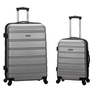 Rockland Melbourne 2-piece Expandable Hardside Spinner Luggage Set