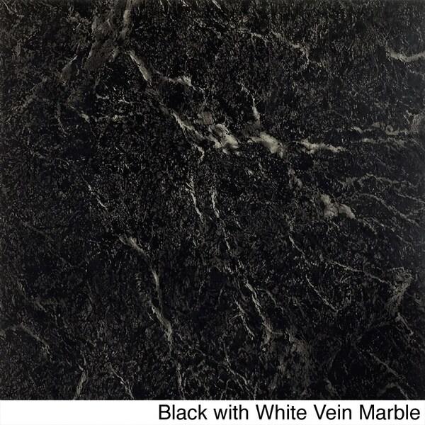 Achim Nexus 20-Piece Marble Look 12x12 Self Adhesive Vinyl Floor Tile (20 Square Feet)