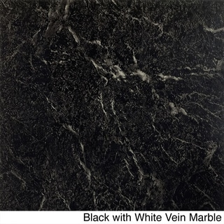 Achim Nexus 20-Piece Marble Look 12x12 Self Adhesive Vinyl Floor Tile (20 Square Feet)