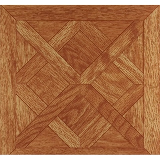 Nexus Wood-Look 12x12 Self Adhesive Vinyl Floor Tile - 20 Tiles/20 sq Ft.