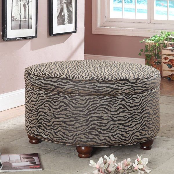 shop animal print ottoman free shipping today 88095