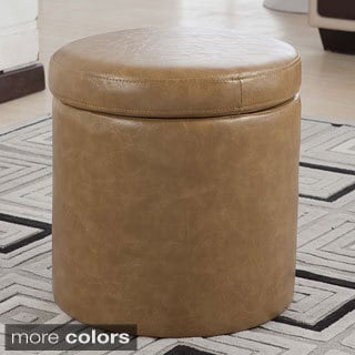 Luxury Comfort Collection Classic Storage Ottoman