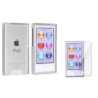 INSTEN Clear Slim iPod Case Cover/ Screen Protector for Apple iPod nano 7|https://ak1.ostkcdn.com/images/products/8494076/BasAcc-Clear-Slim-Case-Screen-Protector-for-Apple-iPod-nano-7-P15780784.jpg?impolicy=medium