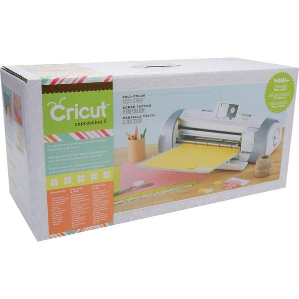 Cricut Expression 2 Die Cutting Machine w/800+ Cartridge Images