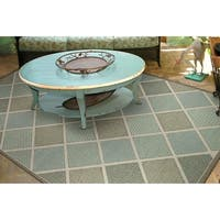 Samantha Dustin Multi Indoor/Outdoor Area Rug - 7'6 x 10'9