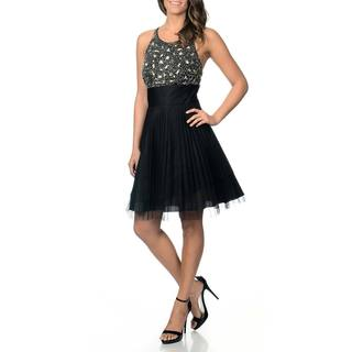 Betsy & Adam Women's Embellished Party Dress