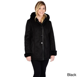 Excelled Women's Shearling Coat