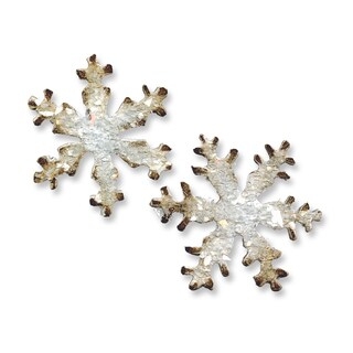 Sizzix Movers & Shapers Mini Snowflakes Magnetic Die Set (2 Pack)