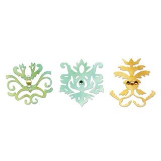 Sizzix Sizzlits Royal Motif Set by Scrappy Cat Die Set (3 Pack)