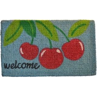 Cherry Welcome Mat