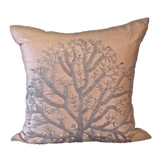 Champagne Wild Tree Down Pillow