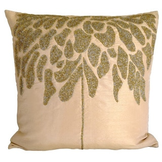 Champagne Coral Tree Down Pillow