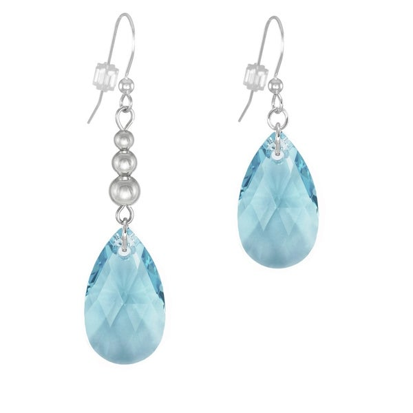 Sterling Silver Reflections Sky Blue Full Elements Bead