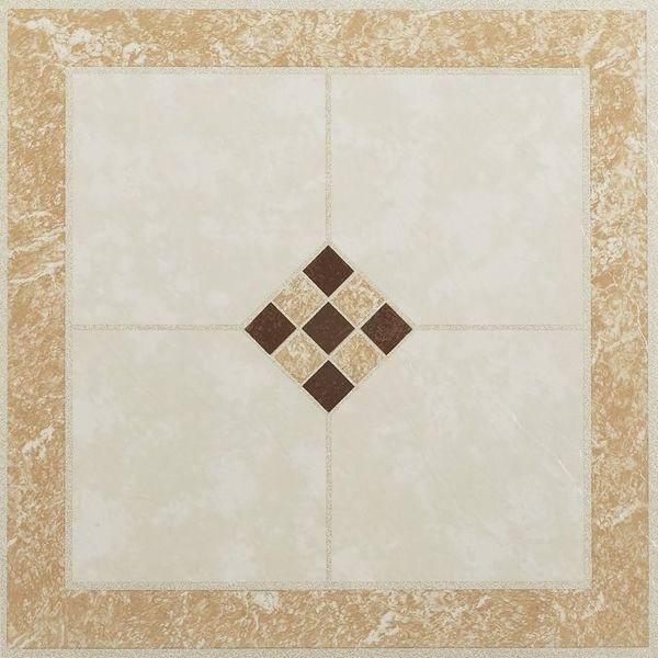 Shop 12x12 Geo Rose Cream Self Adhesive Vinyl Floor Tile