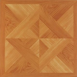 Achim Nexus Classic Light Oak Diamond Parquet 12x12 Self Adhesive Vinyl Floor Tile - 20 Tiles/20 sq Ft.