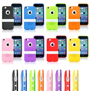 Gearonic iPhone 5C Dual Layer Hybrid Case with Stand