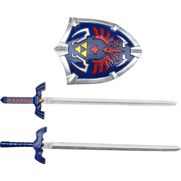 16.75-inch The Legend of Zelda Short Sword and Shield Set