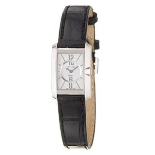 Concord Women's 'Delirium' 18K White Gold Swiss Quartz Watch