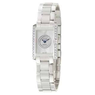 Concord Women's 'Delirium' 18K White-gold Diamond-studded Swiss Quartz Watch|https://ak1.ostkcdn.com/images/products/8494864/P15781434.jpg?impolicy=medium
