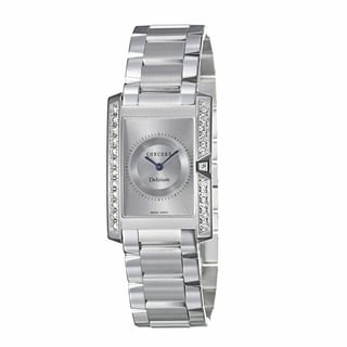 Concord Women's 'Delirium' 18K White-gold Sleek Swiss Quartz Watch