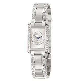 Concord Women's 'Delirium' 18K White-gold Swiss Sophisticated Quartz Watch