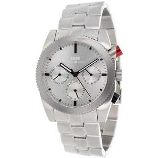 Kr3w Men's Red rum chronograph Watch
