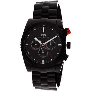 Kr3w Men's Red Rum Black Chronograph Watch