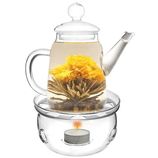 Tea Beyond Teapot Duo with Tea warmer Cozy