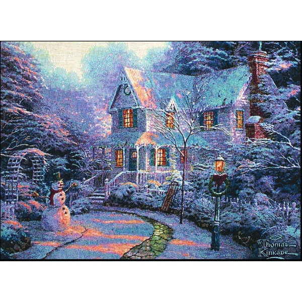 Manual Woodworkers Thomas Kinkade Night Before Christmas Placemats Set Of 4