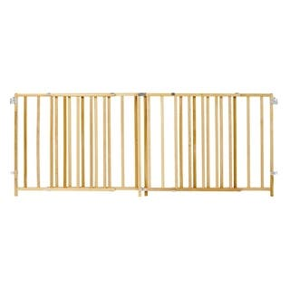North States Extra Wide Wood Swing Gate - brown|https://ak1.ostkcdn.com/images/products/8495045/P15781592.jpg?impolicy=medium