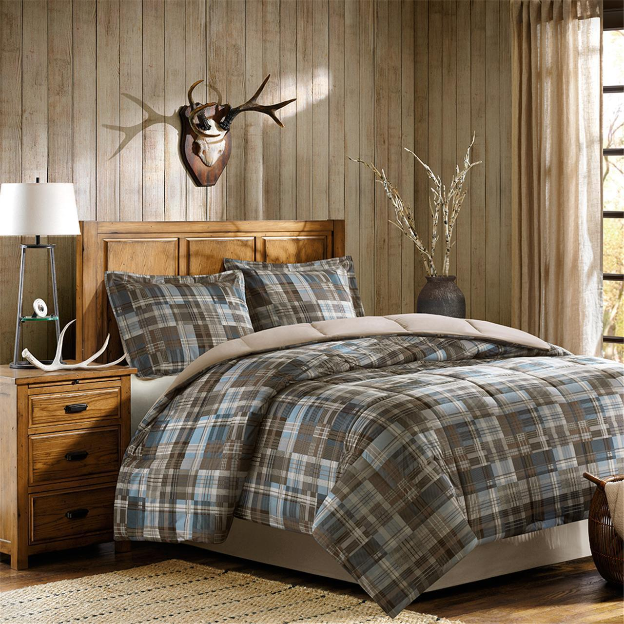 Shop Woolrich White River Multi Down Alternative Comforter Set