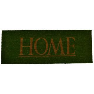 Rubber Cal Home Sweet Home Coir Outdoor Door Mat Free