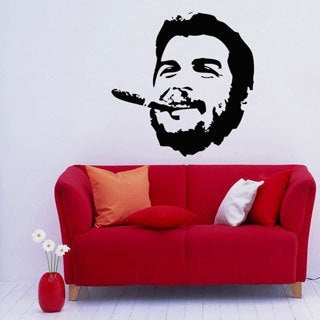 'Man with a Cigar' Interior Vinyl Wall Decal