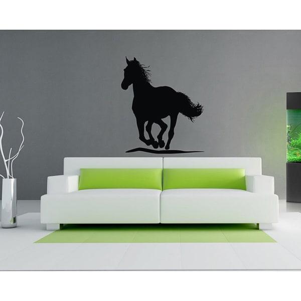 'Galloping Horse' Interior Vinyl Wall Decal
