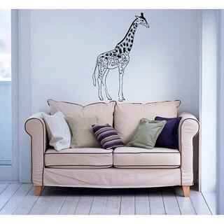 'Giraffe' Interior Vinyl Wall Decal