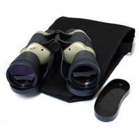 Defender Dark Blue/ Tan Free Focus 30x50 Binoculars