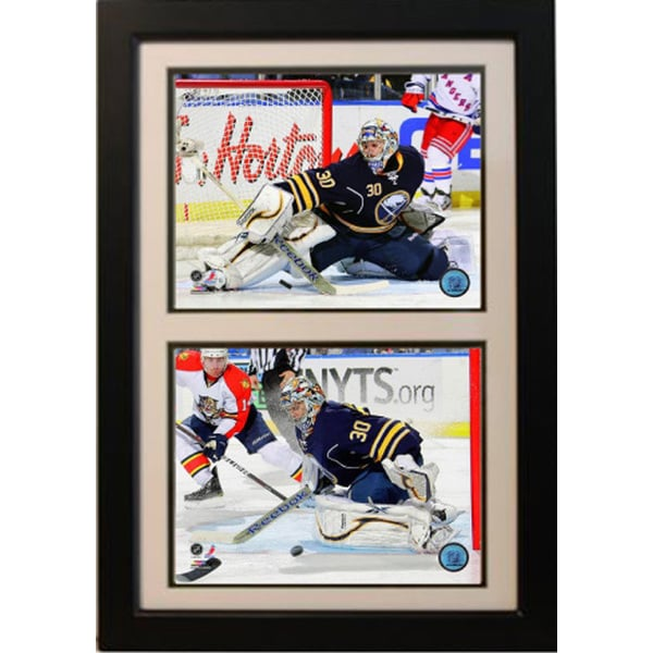 Buffalo Sabres Ryan Miller 12x18-inch Double Framed Plaque