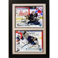 Buffalo Sabres Ryan Miller 12x18-inch Double Framed Plaque