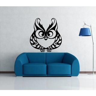 'Owl' Interior Vinyl Wall Decal