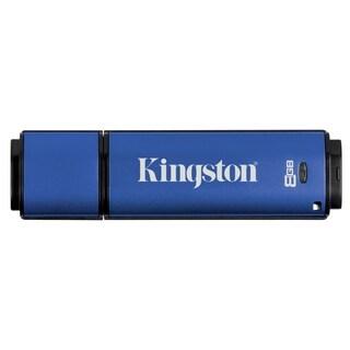 Kingston 8GB DataTraveler Vault Privacy 3.0 USB 3.0 Flash Drive