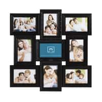 Mellannco Black 9-picture Multi-profile Collage Frame