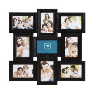 Mellannco Black 9-picture Multi-profile Collage Frame