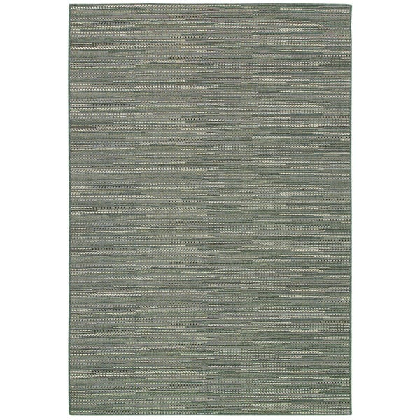 Samantha Diva Grey/Multi Indoor/Outdoor Area Rug - 8'6 x 13'