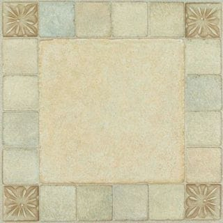 Shop Nexus 12 X 12 Inch Mosaic Self Adhesive Vinyl Floor