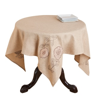 Appliqué and Embroidered Table Topper