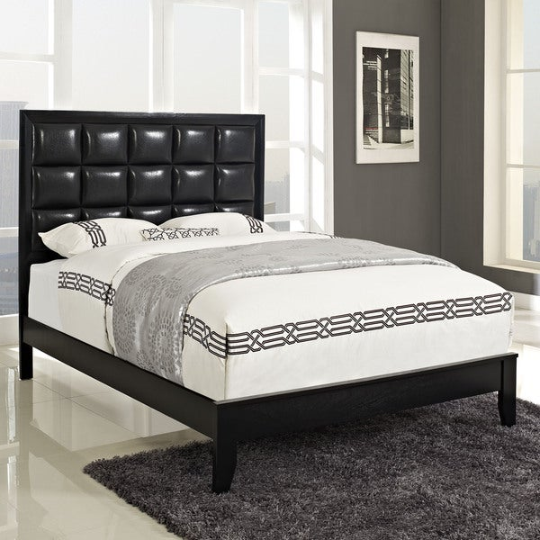 Shop Lola Black Bed Frame - Free Shipping Today - Overstock.com ...