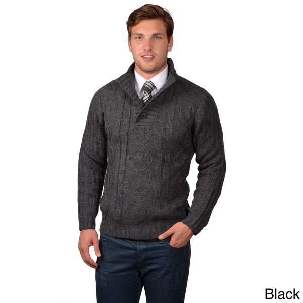Boston Traveler Men's Cable Knit Sweater